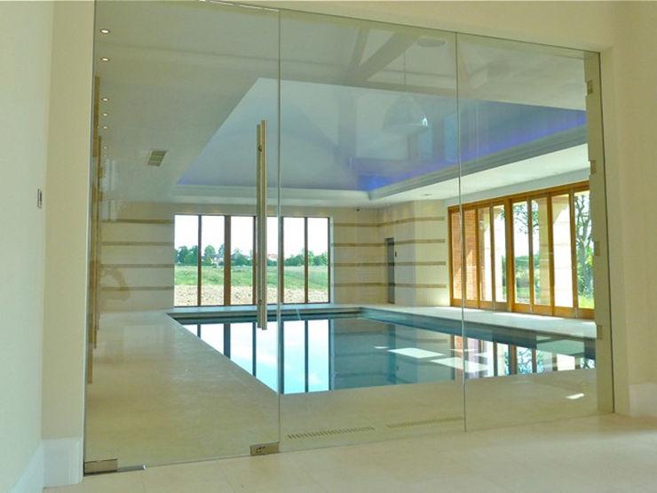Frameless Glass Screens Ion Glass Modern walls & floors Glass