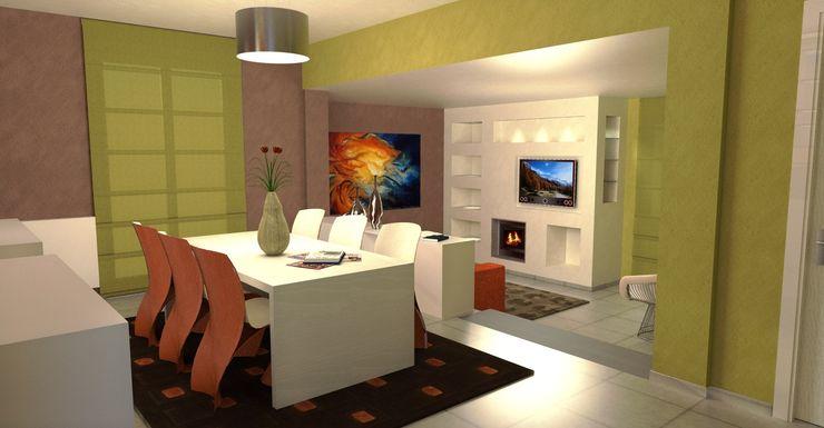 Vista del soggiorno - living room view Planet G Soggiorno moderno