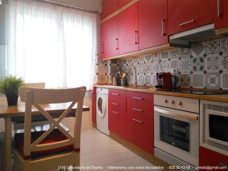 UVE laboratorio de diseño Modern Kitchen Red