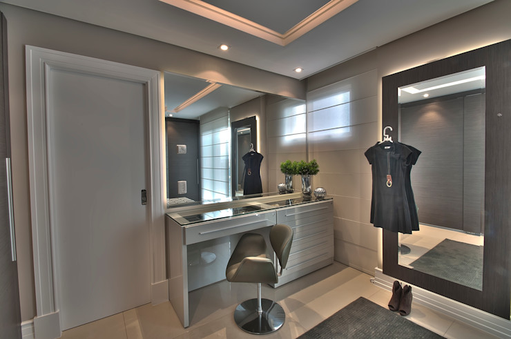 Pauline Kubiak Arquitetura Modern style dressing rooms
