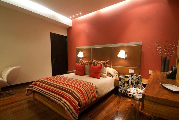 DIN Interiorismo غرفة نوم