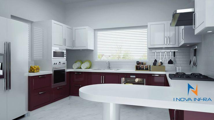 I Nova Infra Modern style kitchen