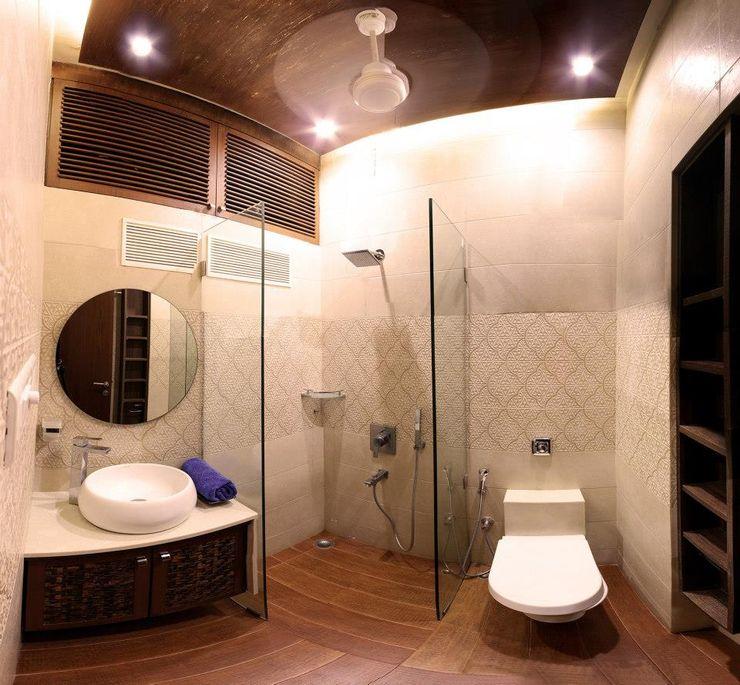 The design house Baños de estilo moderno