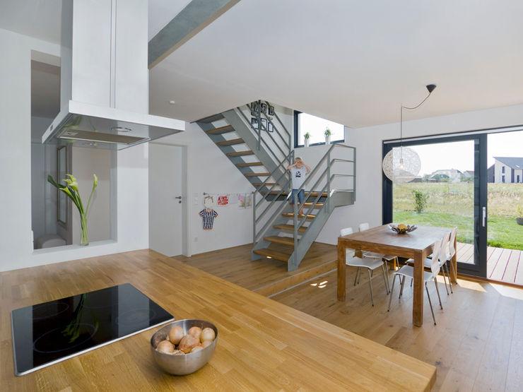 Gondesen Architekt 스칸디나비아 복도, 현관 & 계단