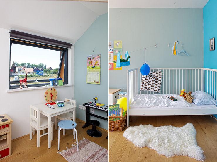 Gondesen Architekt Scandinavian style nursery/kids room