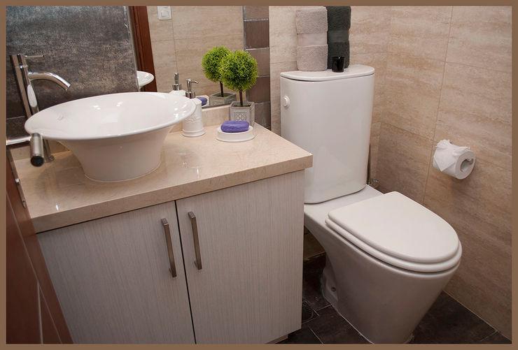 Diseñadora Lucia Casanova Modern Bathroom