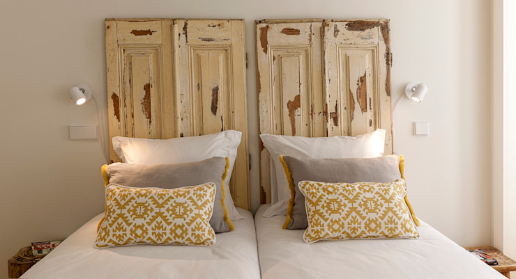 Staging Factory BedroomBeds & headboards Solid Wood Yellow