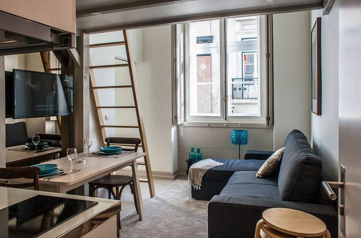 Living Room Architecture TOTE SER Salas de estar modernas