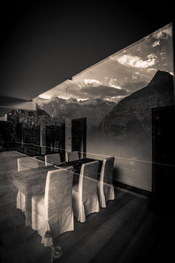 Modern Minimal Mountain Architetto Domenico Mazza