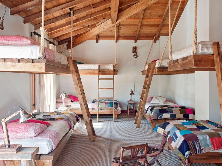 SA&V - SAARANHA&VASCONCELOS Dormitorios infantiles rústicos