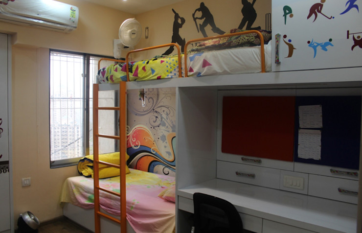 UNIQUE DESIGNERS & ARCHITECTS Dormitorios infantiles de estilo moderno