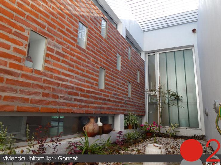 Casa Habiaga-Morel punto2 Jardines modernos: Ideas, imágenes y decoración