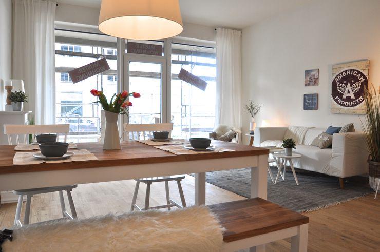 Karin Armbrust - Home Staging Ruang Makan Modern