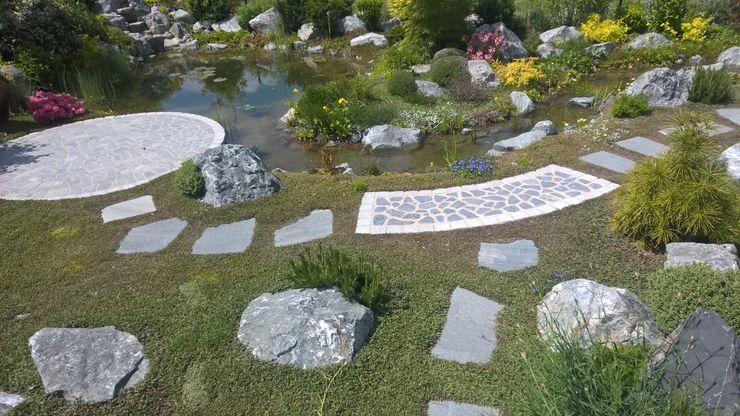 natürliche Teichanlage Neues Gartendesign by Wentzel Mediterraner Garten