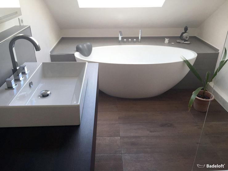 Badeloft - Badewannen und Waschbecken aus Mineralguss und Marmor Ванна кімнатаВанни та душові Білий