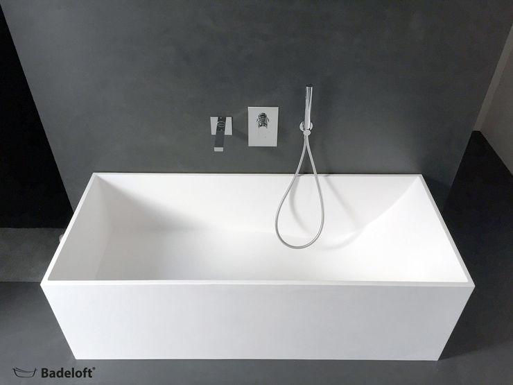 Badeloft - Badewannen und Waschbecken aus Mineralguss und Marmor Ванна кімната Білий