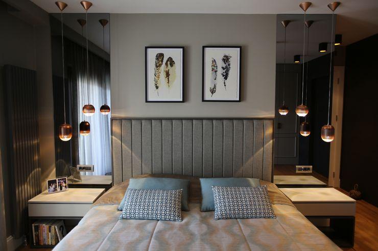 EIY HOUSE Esra Kazmirci Mimarlik Modern style bedroom