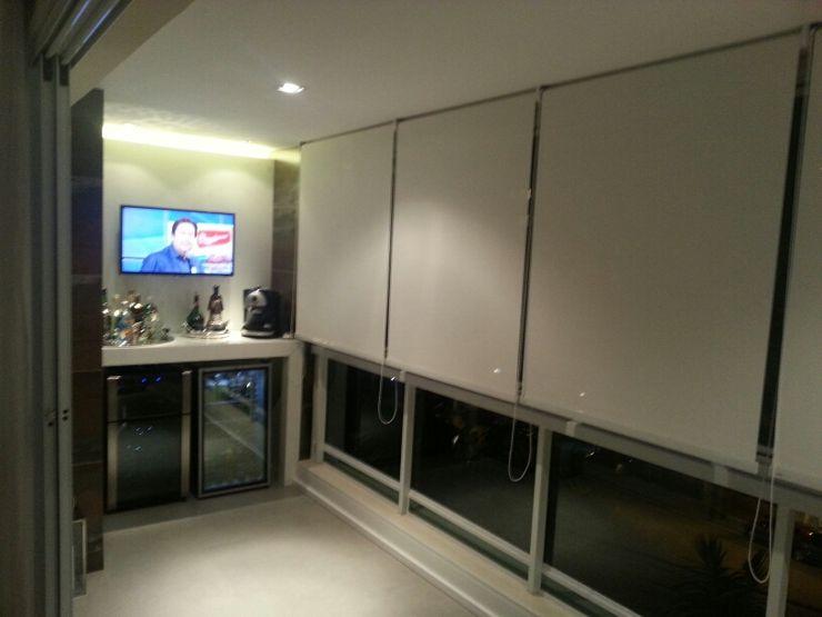 Estúdio Plano Minimalist balcony, veranda & terrace