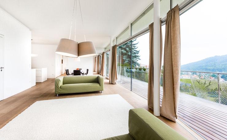 LOVE architecture and urbanism Minimalist Oturma Odası