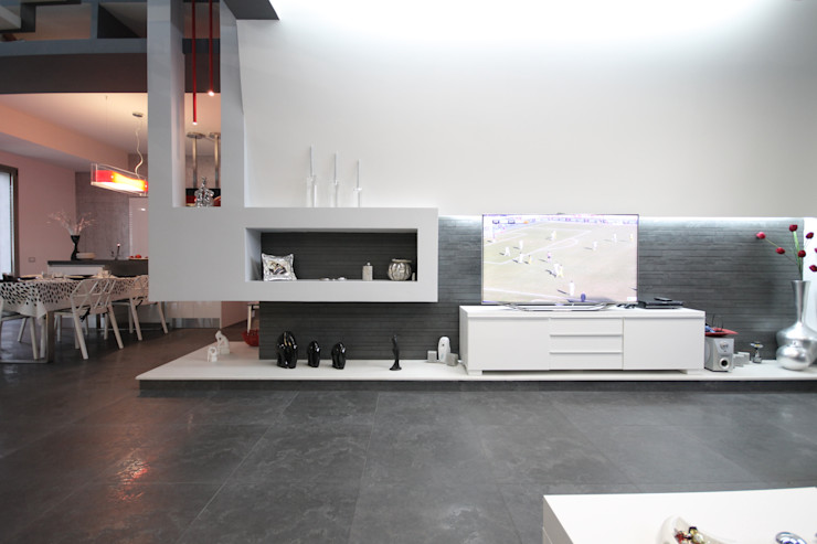 Luxury Home Studio Ferlenda Soggiorno moderno