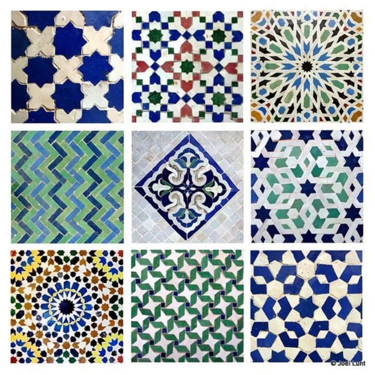 Moroccan Tiles Prune sucrée Murs & SolsCarrelage