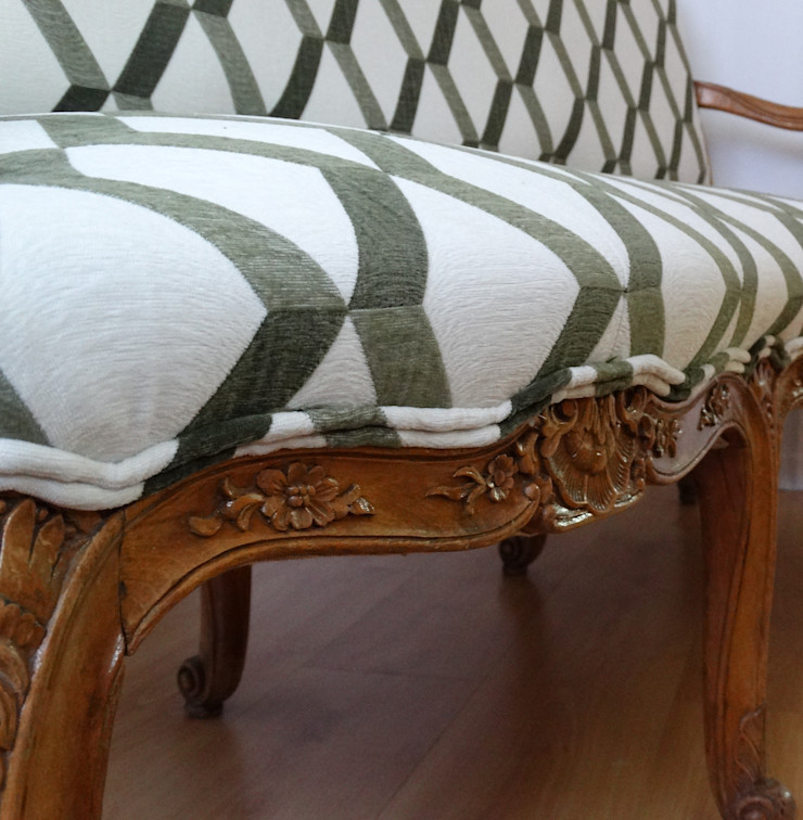 DRM CONFECCION Dining roomChairs & benches Textile Green