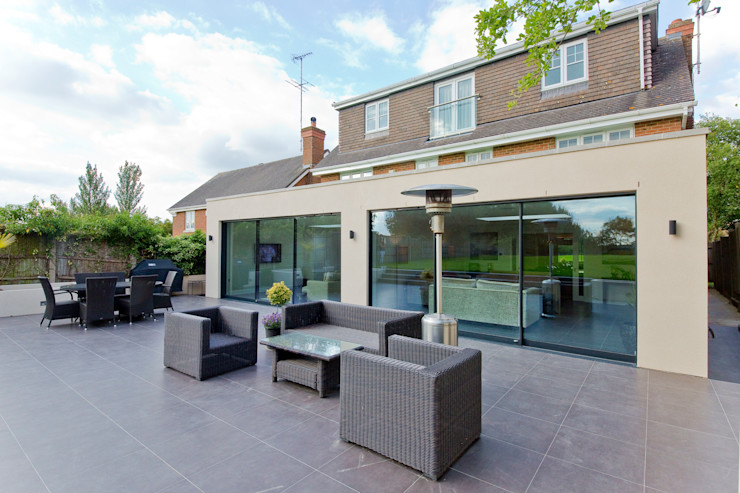 Private residential house – Elstree New Images Architects منازل