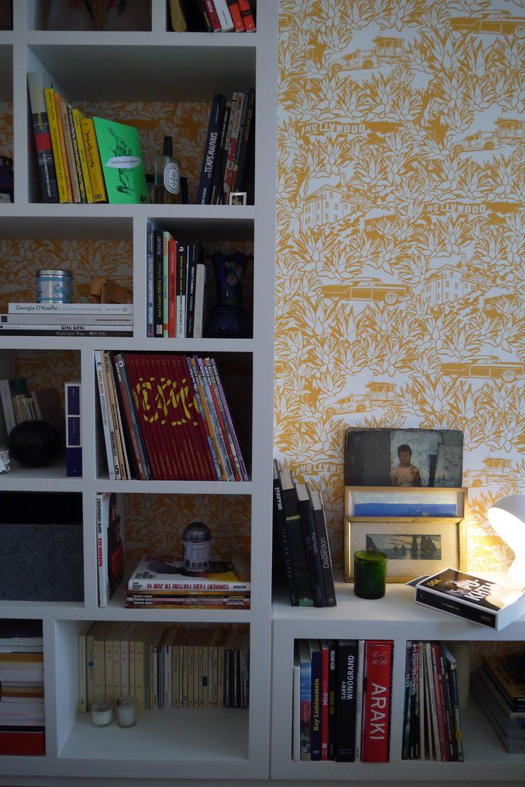 Hollywood – Paris11e Agence Laurent Cayron Chambre moderne