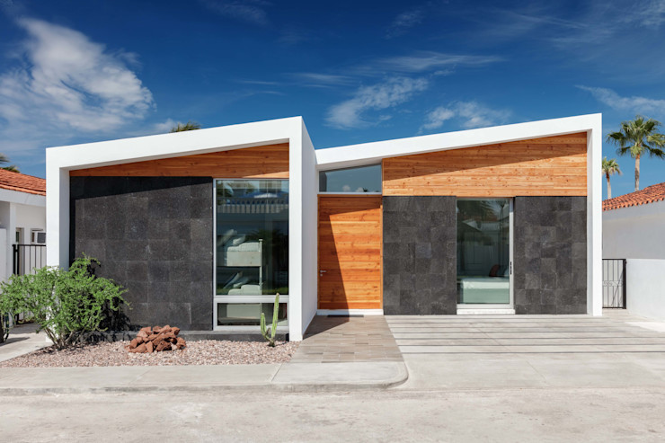 CASA MRE Imativa Arquitectos Casas estilo moderno: ideas, arquitectura e imágenes Piedra Blanco