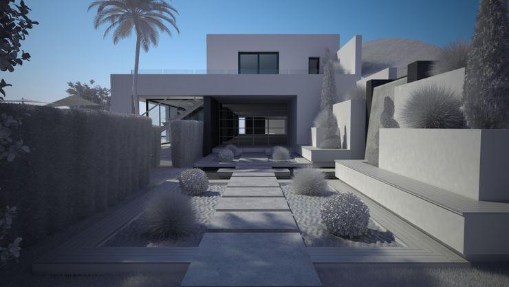 MANSION DESIGN Modern garden