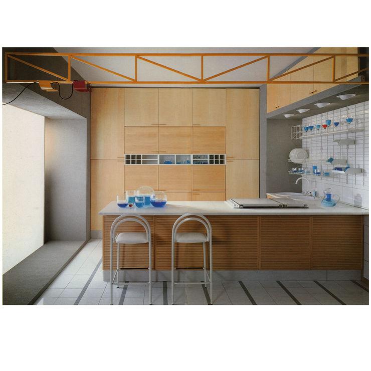 programma cucina KALEIDOS Studio Giobbi Architetto CucinaArmadietti & Scaffali