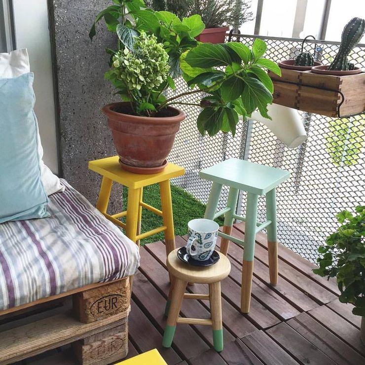 EnKaja Balcone, Veranda & TerrazzoAccessori & Decorazioni