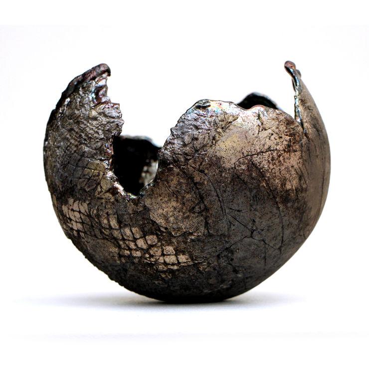 Noir d'alchimie Nathalie Landot ArtObjets d'art Céramique Noir