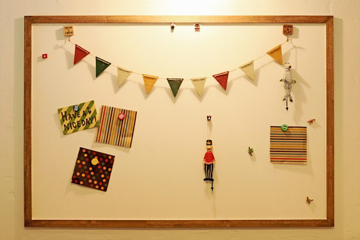お気に入りマグネットボード - 子育てをコンセプトにした住まい「育みの家」 ジャストの家 北欧デザインの 子供部屋