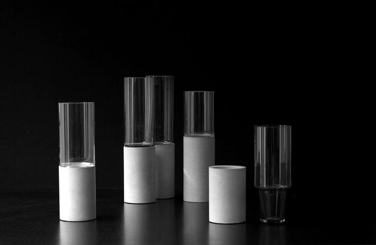 "Concrete vase ""Tara"" Betoniu GmbH Living roomAccessories & decoration"
