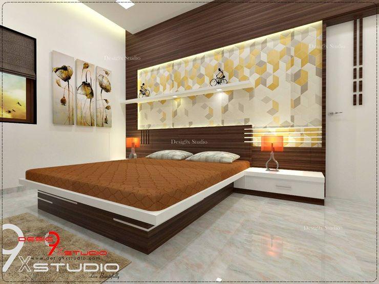 Bedroom designs Desig9x Studio Modern style bedroom