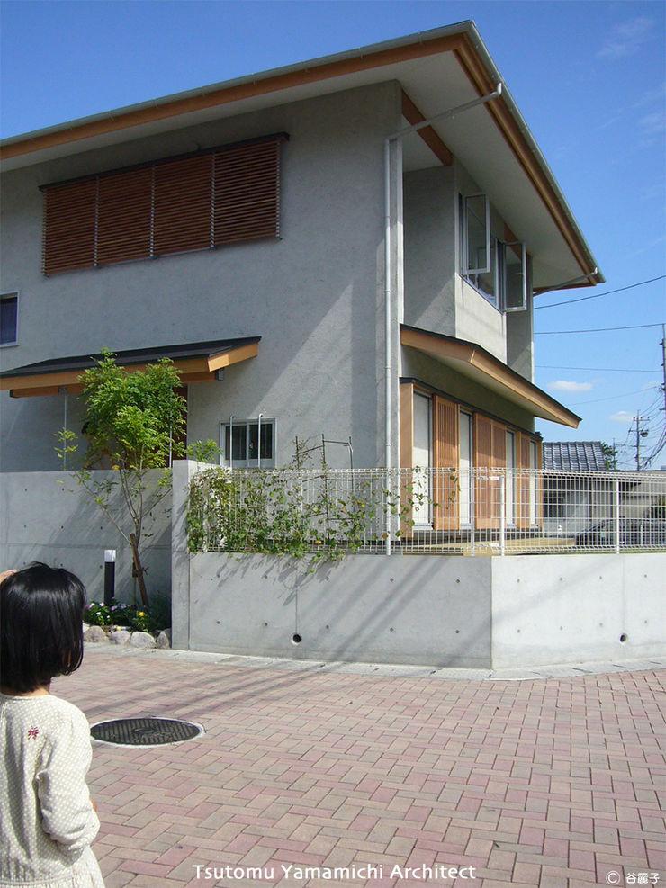 山道勉建築 Scandinavian style houses Wood Grey