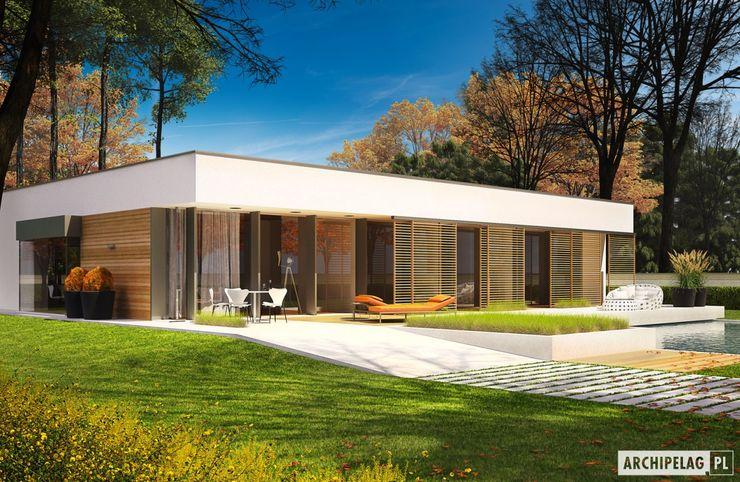 Pracownia Projektowa ARCHIPELAG Casas de estilo moderno