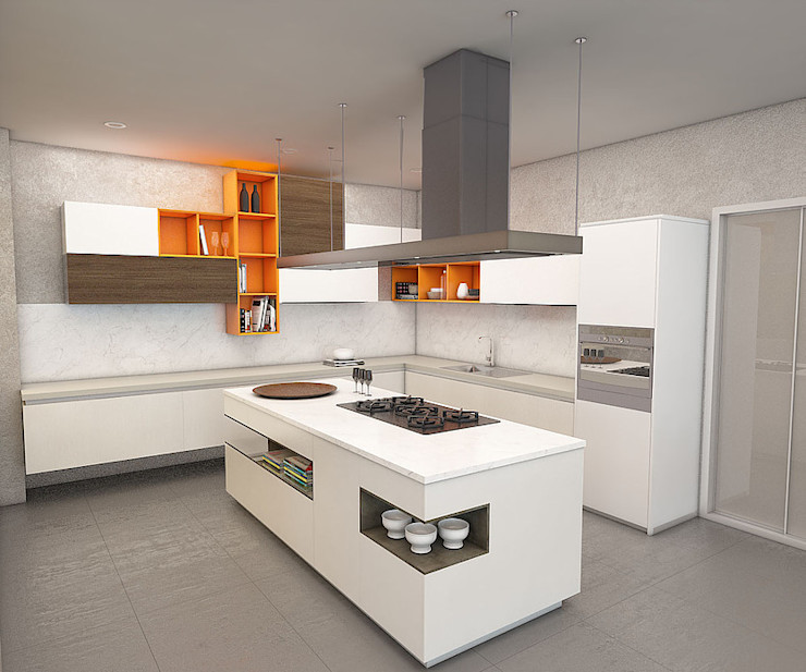 Politan Arquitectura+Diseño S.A.S. Cuisine moderne