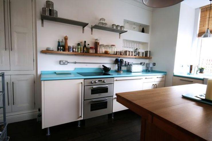 Bespoke 1950's inspired kitchen Redesign 에클레틱 주방
