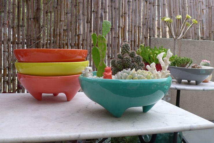 CURADORAS Patios & Decks Ceramic Multicolored