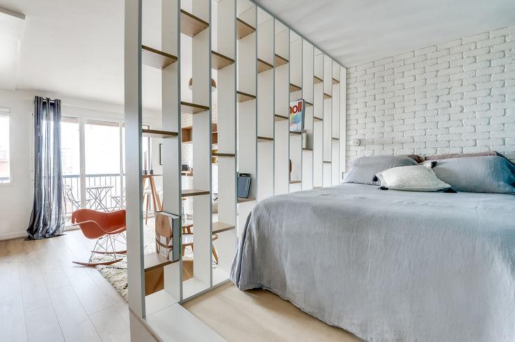 Transition Interior Design Phòng ngủ phong cách hiện đại
