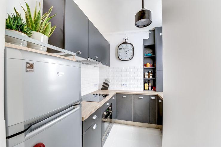 CuisiShop Modern style kitchen Black