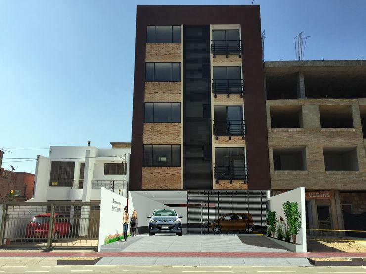 OGGETTO ARQUITECTOS Moderne Häuser