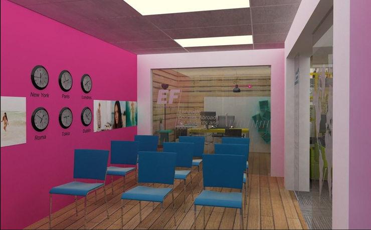 NSM Aquitectura Modern offices & stores
