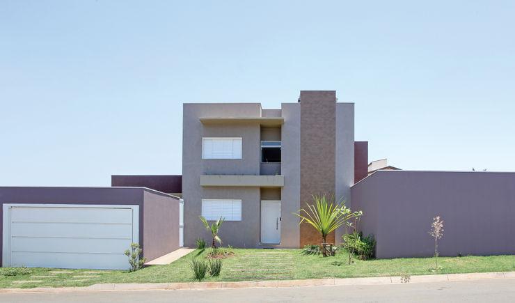 Híbrida Arquitetura, Engenharia e Construção Casas modernas