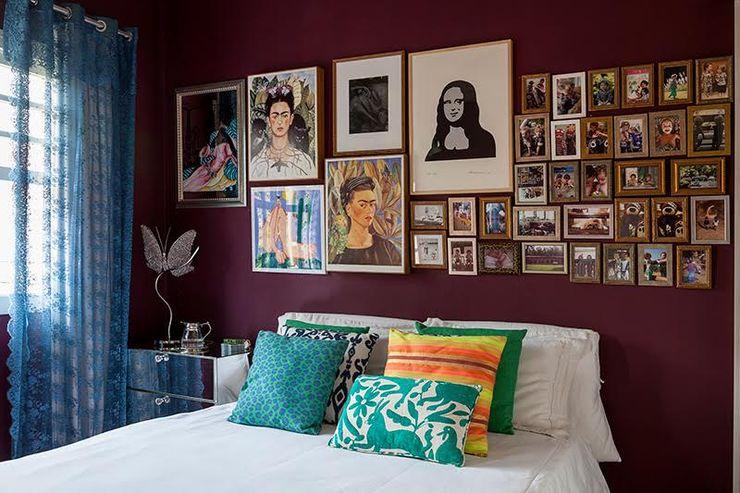 Casa Marjory Basano para Casa de Valentina Julia Ribeiro Fotografia Quartos modernos