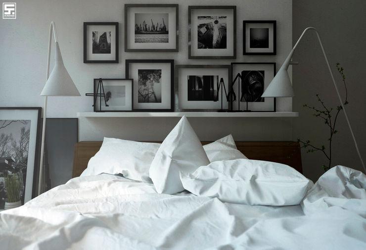 homify Dormitorios de estilo minimalista Madera Blanco
