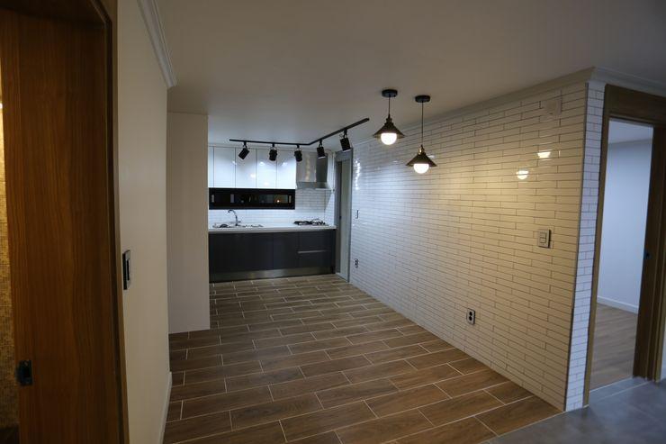 디자인세븐 Industrial style dining room