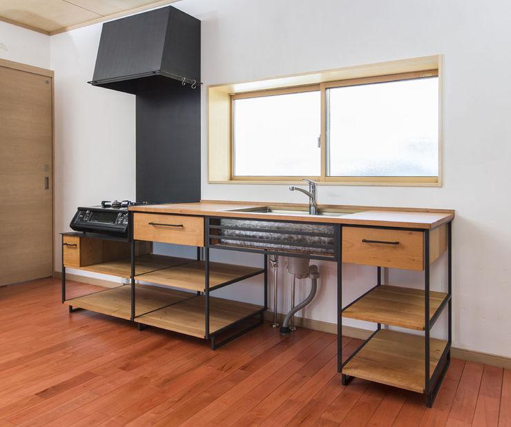 家具工房一木 Industrial style kitchen